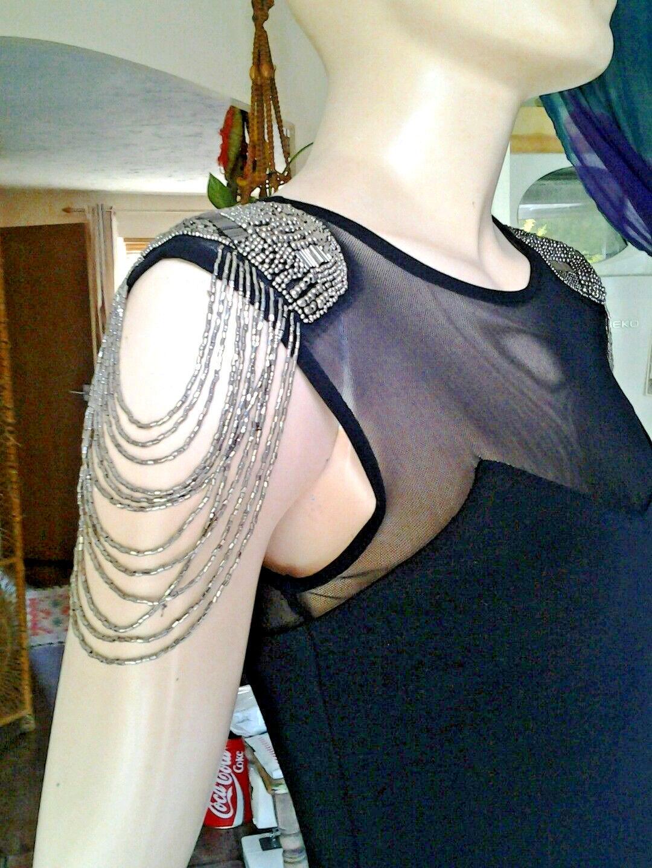 Unusual Gothic Punk steampunk dress top shop with tassle shoulders