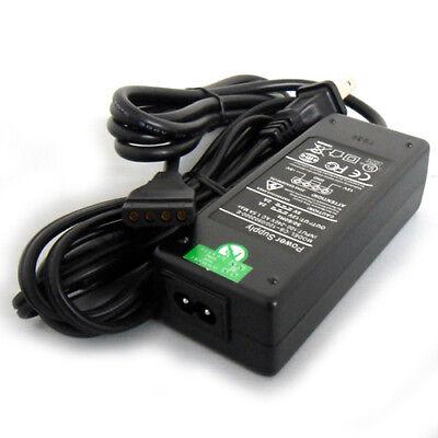 AC 110V to DC 12V//5V Power Adapter w// Dual Molex Connector