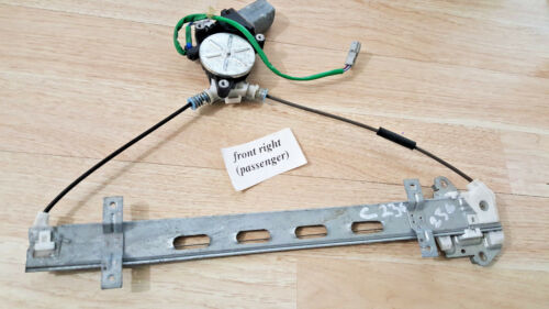 01-05 honda civic 4dr front right window regulator 72210-s5a-g05 72210s5ag05 d1