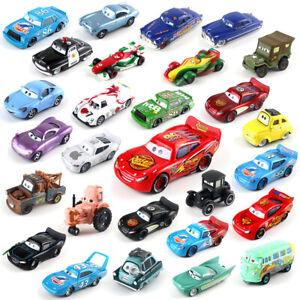 All Mattel Disney Pixar Model Cars McQueen 1:55 Diecast Lot Choose Loose Kid Toy