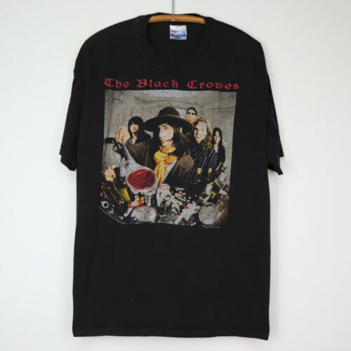 Vintage 1992 Black Crowes High As The Moon Tour Sh