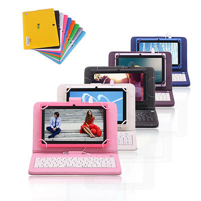 """iRULU Tablet eXpro X1 7"""" Android 4.4 Kitkat Quad Core 16GB Dual Cam w/ Keyboard"""