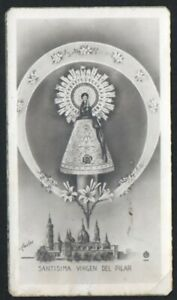 Image Pieuse Ancianne De La Virgin Del Pilar Santino Estampa Andachtsbild 3ioxrvqy-07234214-979997948