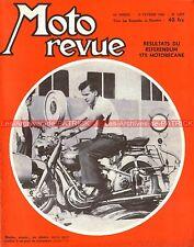 MOTO REVUE 1277 BSA 500 Gold Star : B 32 B 34 ; MOTOBECANE 175 Z2 C 1956