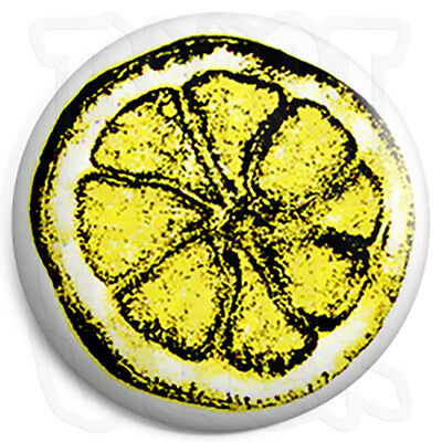 Indie Button Badge Stone Roses Lemon 25mm 1 inch