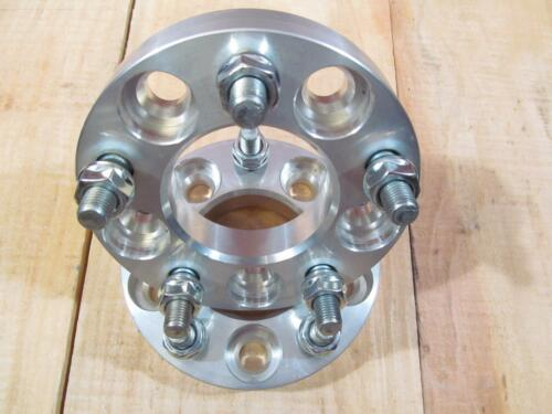 """5x4.5 5x114.3 to 5x100 USA Wheel Adapters 1.25/"""" Thick 1//2x20 Studs x2 Spacers"""