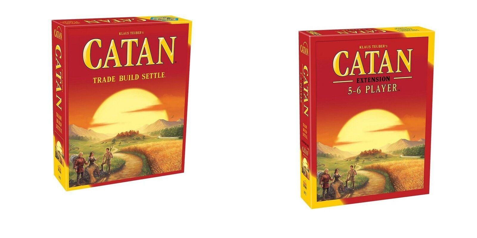 Catan  Studio  (colons de) Catan Jeu De Plateau + 5-6 Lecteur Rallonge Bundle (Nouveau)  meilleurs prix et styles les plus frais