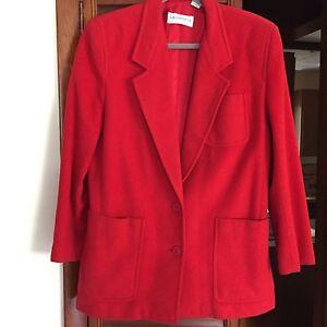 Classic Women's 8 Claiborne blazer Liz Jacket Wool Size SHE1q