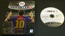 Fifa Soccer 2013 Ps3 Steelbook Collectors Tin