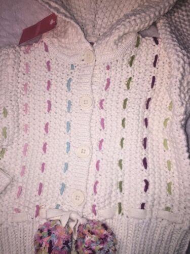 Details about  /NWT Gymboree Imaginary Friends rainbow cardigan crochet sweater 4 pride wedding
