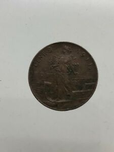 Kingdom-D-039-Italia-Vittorio-Emanuele-III-2-Cents-forward-1911-BB-Spl