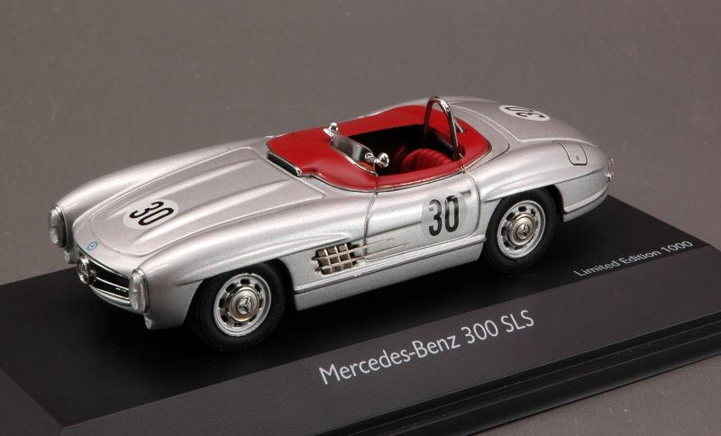 MERCEDES-BENZ 300 sls  30 p. O 'Karité scca Championship 1957 1 43 2476 schuco