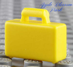 New lego city minifig yellow briefcase boy girl for Case lego city