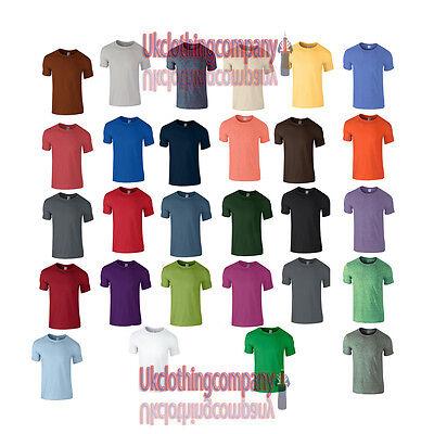 Gildan Softstyle Adulti T-shirt-manica Corta Adulto Top-taglie Dalla S Alla Xxl-mostra Il Titolo Originale