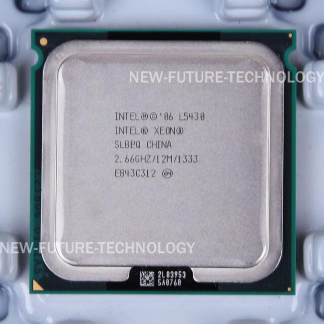 Intel Xeon L5430 (EU80574JJ067N) SLBBQ CPU 1333 MHz 2.66 GHz LGA 771 100% Work