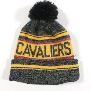 New Era Cleveland Cavaliers Pom-Pom Beanie Hardwood Classic Hat Cavs
