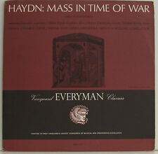 "HAYDN MASS IN TIME OF WAR DAVRATH RÖSSL-MAJDAN DERMOTA BERRY WÖLDIKE 12"" LP g988"