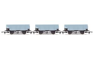 Hornby-R6906-OO-Gauge-BR-21t-Mineral-Wagon-Triple-Pack