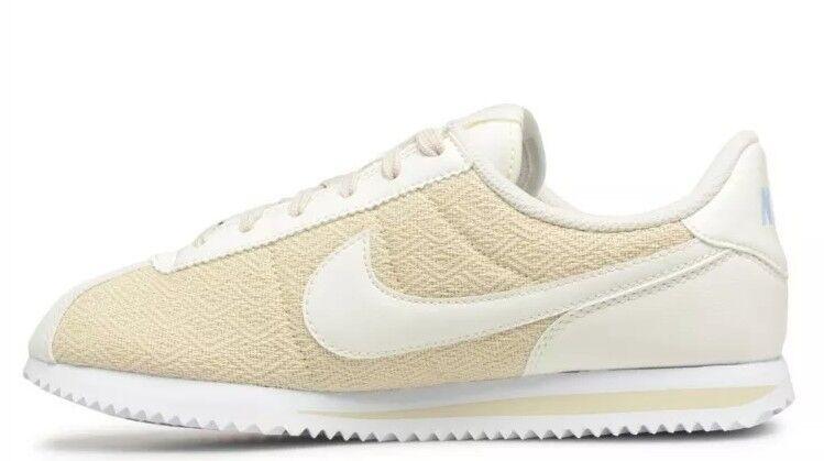 Nike Mujeres Mujeres Mujeres Cortez Basic TXT se GS fósil Vela Royal tinte Zapatillas Tamaño 5.5 BNI  para proporcionarle una compra en línea agradable