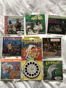 Vintage View Master Reel Collection : Tarzan, Robin Hood, Donald Duck