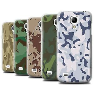 premium selection fa58b 7d1fd Details about Phone Case/Back Cover for Samsung Galaxy S4 Mini /Military  Camo Camouflage