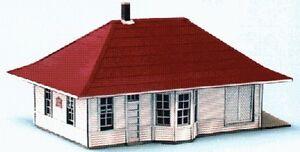 Details about Blair Line HO Leeton Train Depot Laser Cut Wood Building Kit  188