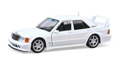 Neu Weiss MB 190E Solido 421185810-1//18 Mercedes-Benz