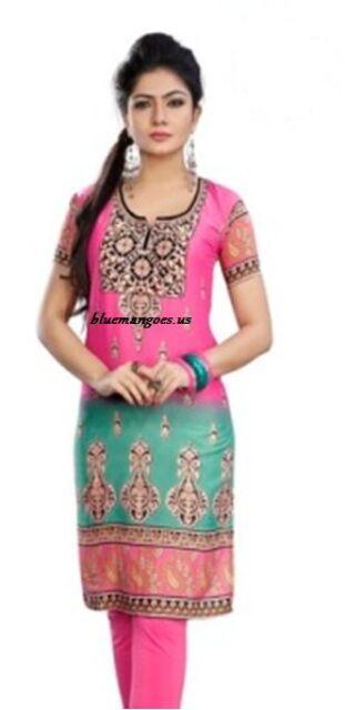 Indian Designer Crepe tops blouse kurta Kurtis -Tunics for Women