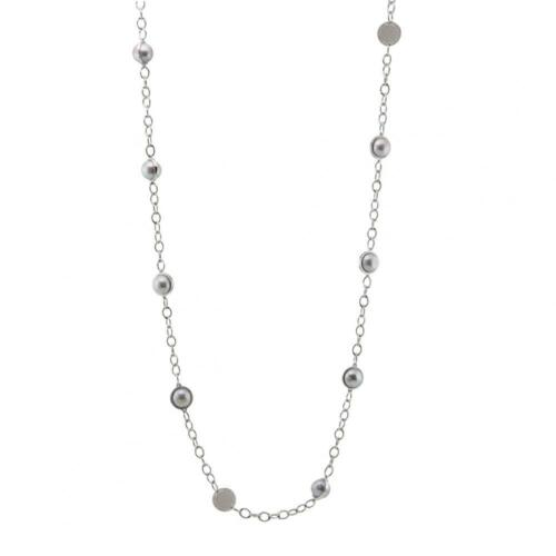 Collana Lunga Donna REBECCA SFLKCC08 Argento 925/% Perle Made in Italy