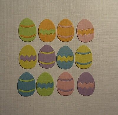 12 Quickutz Easter Chick Die Cuts Fully Assembled