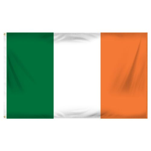 3x5 Feet Ireland Weather Resistant Poly Flag 3x5/' /'Banner brass grommets