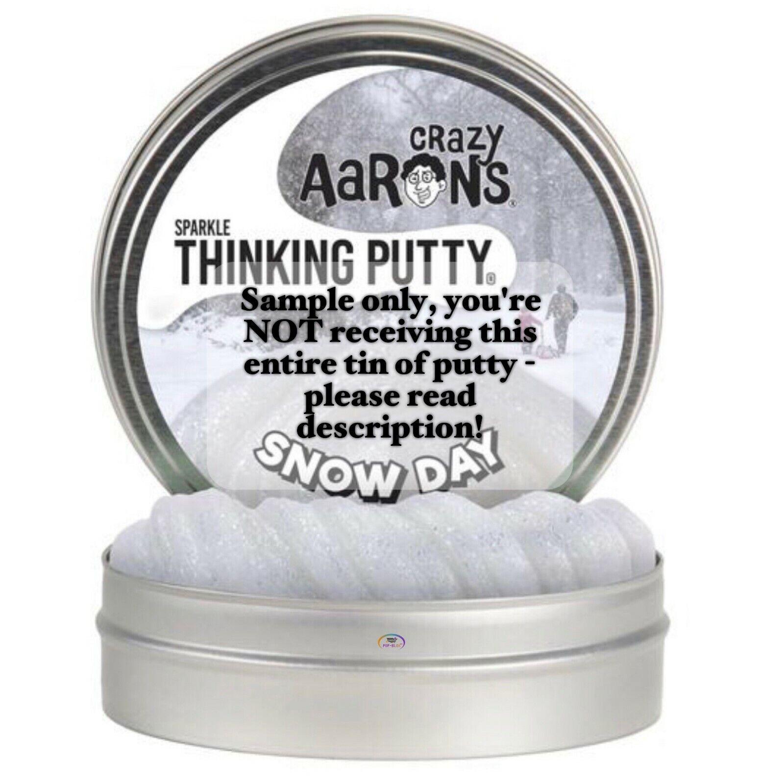 "CRAZY AARON/'S THINKING PUTTY SFMCA211 MB020 Monkey Business 4/"" Tin Metallic"