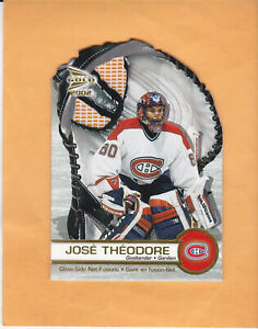 2001-02-MCDONALDS-PACIFIC-JOSE-THEODORE-GLOVE-SIDE-NET-FUSIONS-3-CANADIENS