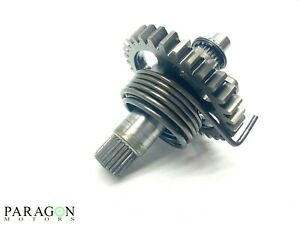 07-1-Kawasaki-KX450F-KX-450F-Kicker-Kick-Start-Shaft-Gear-Spindle-Ratchet