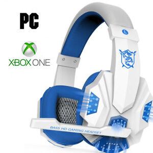 Giocatore-PC-amp-Pro-Xbox-Auricolare-per-i-piu-recenti-Xbox-One-Bianco-Microsoft-Cuffie