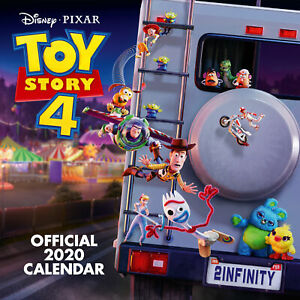 Toy-Story-4-Official-2020-Wall-Calendar-OFFICIALLY-LICENSED-UK-Seller