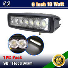 1PC 6INCH 18W LED SPOT/FLOOD DRIVING OFFROAD 4WD WORK LIGHT BAR WD-10W/54W