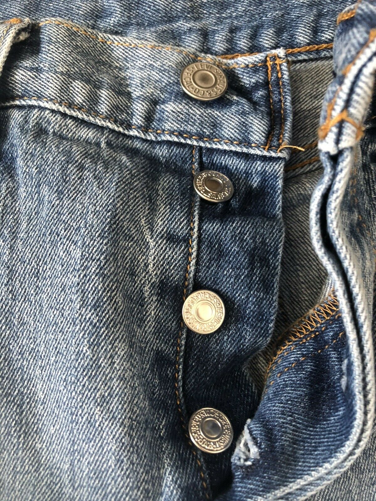 levis 501 made in usa W25L32 - image 2