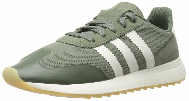 timeless design 1ced4 0cfe5 adidas Originals 70s Flashback FLB Womens Size 8 Dark Greeno