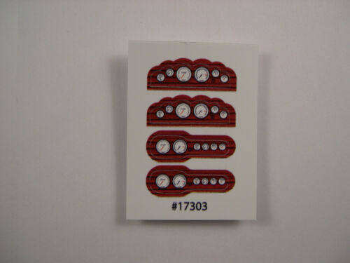 GOFER HOT ROD INSTRUMENT PANEL WOOD GRAIN #1 FOR 1:24 and 1:25 SCALE MODEL CARS