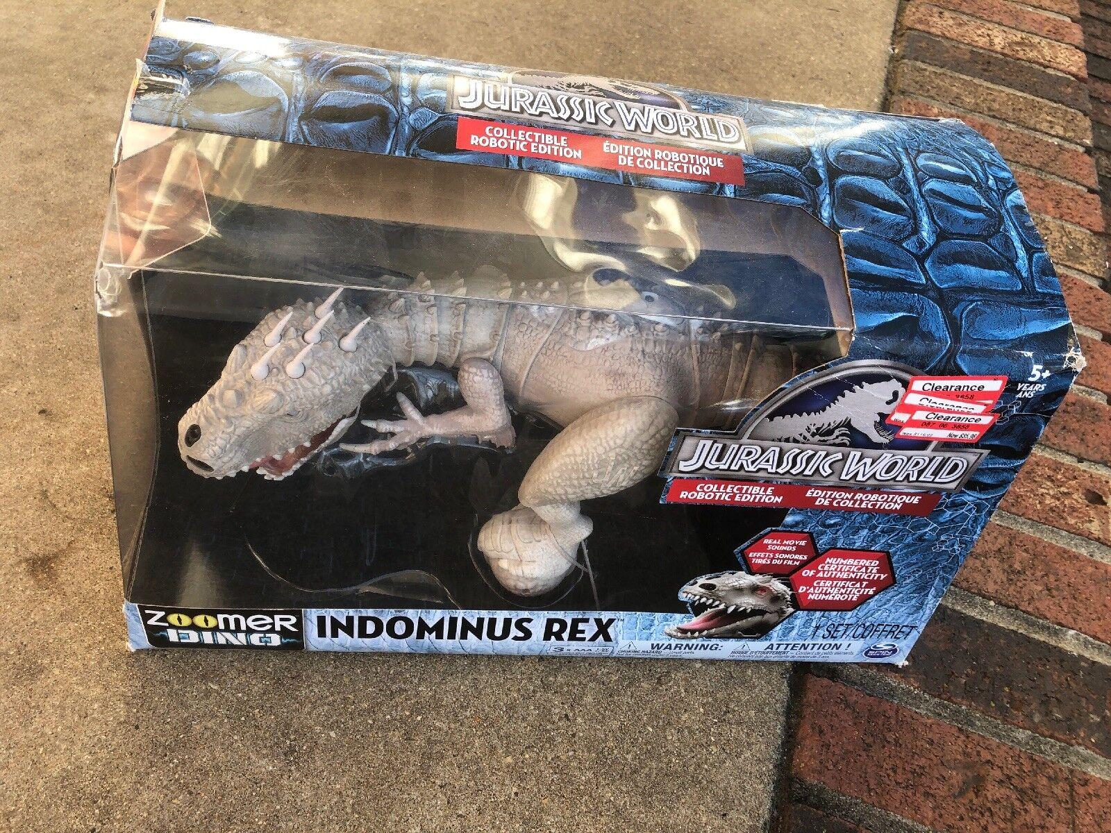 Jurassic welt fernbedienung indominus rex zoomer dino spin master angeschlagen