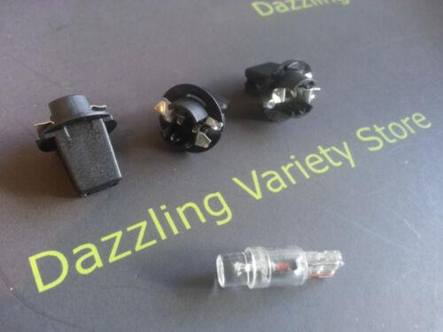 5 QTY x T5 Wedge LED Auto Lamp Holder Gaming Vending Black UK Seller Job Lot