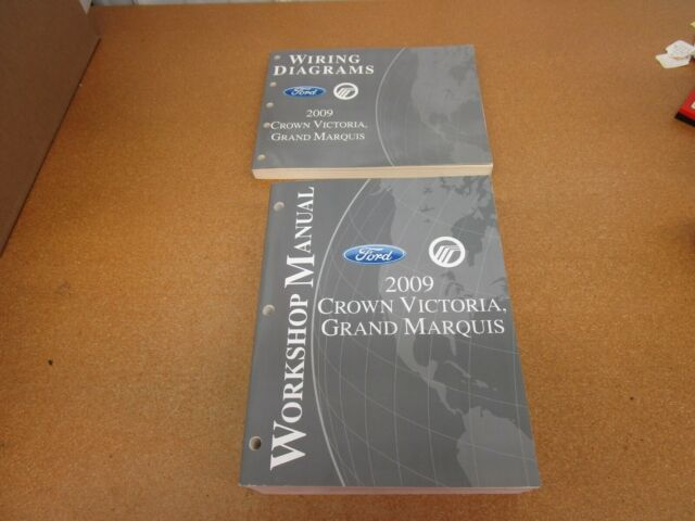 2009 Ford Crown Victoria Grand Marquis Service Shop Wiring Electrical Manual
