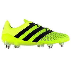 finest selection 19cd3 6b560 Image is loading adidas-Ace-16-1-SG-Football-Boots-Mens-