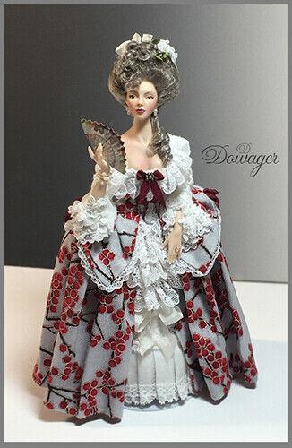 FLOSSIE FLAPPER 1:12 scale Miniature Doll Art Tutorials//Patterns~Clothes//Hair