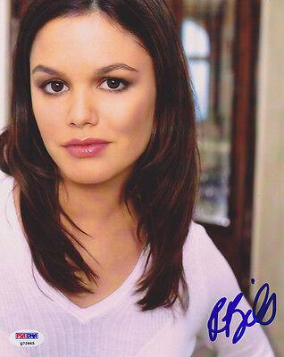 Design; Rachel Bilson Signed 8x10 Photo Nashville Hart Of Dixie Psa/dna Autographed Novel In