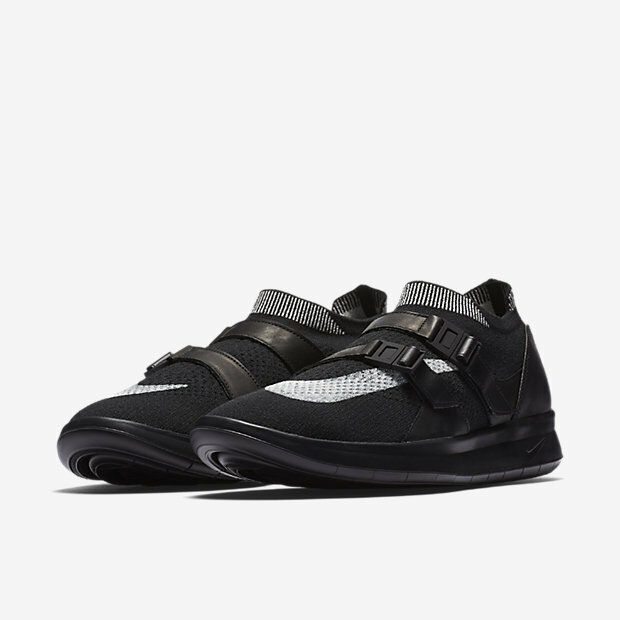 Nikelab nike air sock da racer ultra flyknit scarpe da sock uomo bianco nero nero 12 nuovi a6107e
