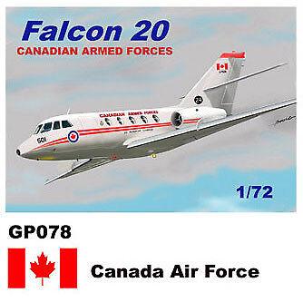 Mach 2 1 72 Dassault-Mystere Falcon 20 GP078
