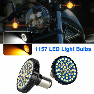 2x-1157-LED-Turn-Signal-Amber-White-Switchback-Lights-Bulbs-for-Harley-Davidson