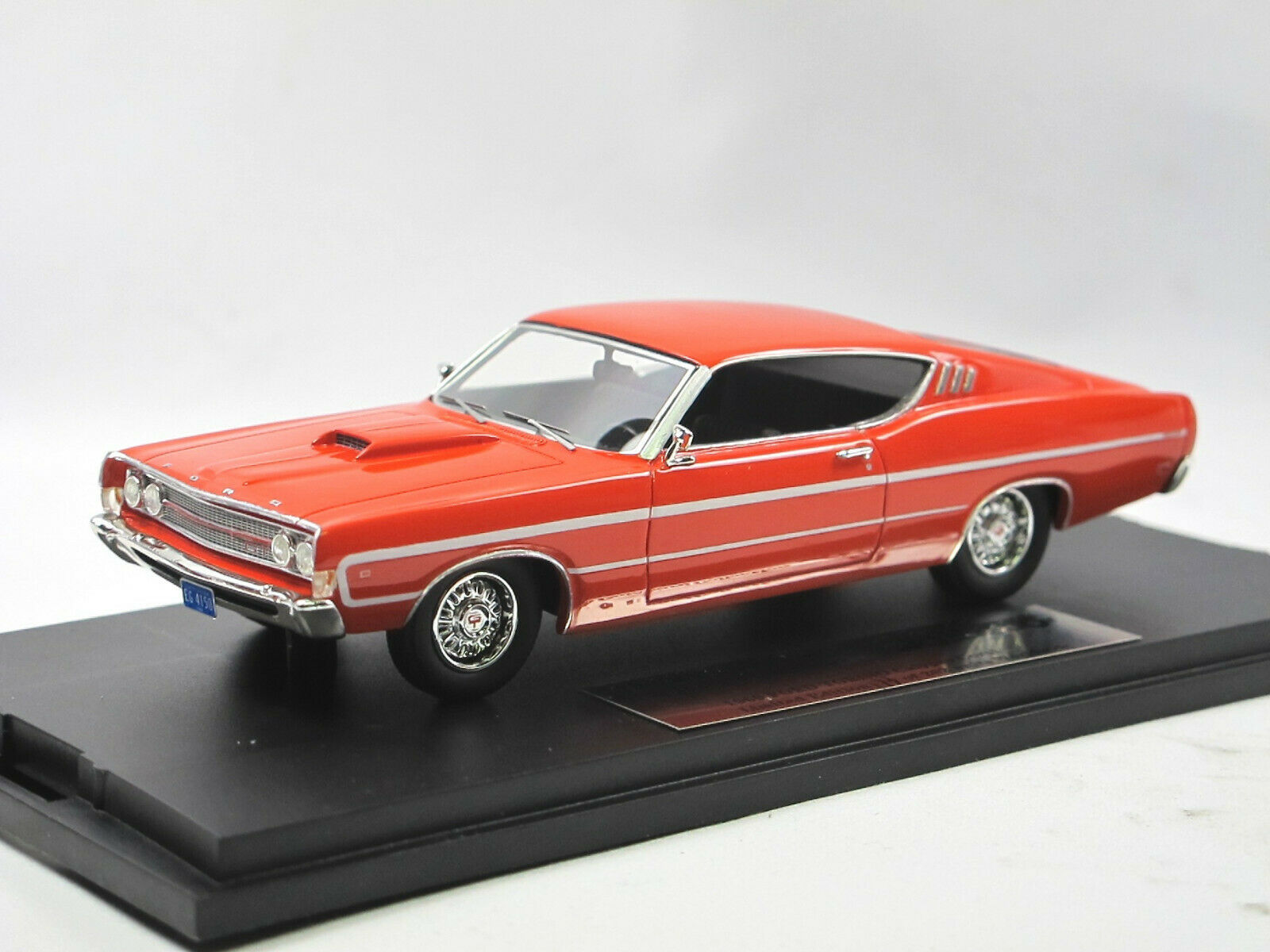 orVARG COLLECTION gc-009a - 1969 FORD TORINO-Calypso Coral - 1 43 Limited